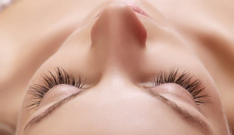 Beautiful natural lashes